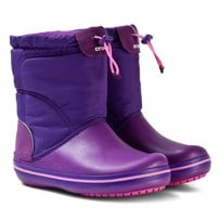 Crocs Crocband LodgePoint Boot K Amethyst/Ultraviolet Amethyst/Ultraviolet