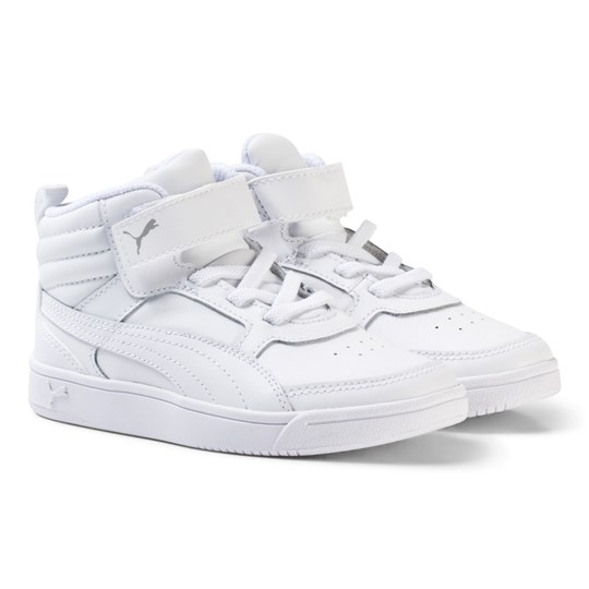 2884eb6e5ba9 Puma - Rebound Street v2 Leather High Tops Trainers - Babyshop.com