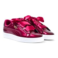 Puma Basket Heart Glam Jr Red Rød