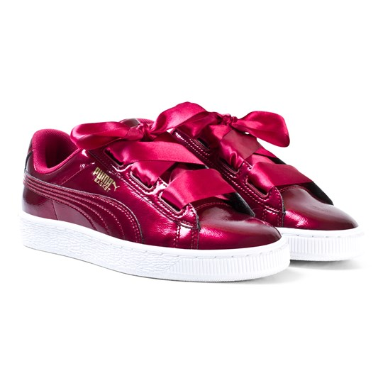 puma basket heart glam