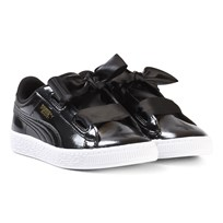 Puma Basket Heart Glam Ps Trainers Black Black