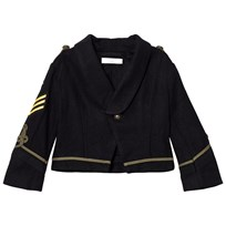 Stella McCartney Kids Black Lee Military Jacket 4100