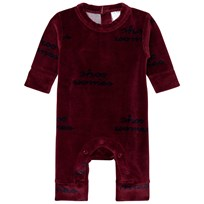 Tinycottons Shoo Worries Bodysuit Bordeaux/Mörk Marinblå Bordeaux / Dark Navy