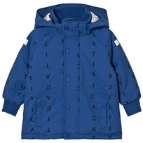 Tinycottons Alphabet Soup Snow Jacket Blue / Dark Navy Blue / Dark Navy