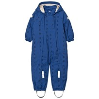 Tinycottons Alphabet Soup Snow Onepiece Blue / Dark Navy Blue / Dark Navy