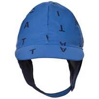Tinycottons Alphabet Soup Snow Hat Blue/Dark Navy Blue / Dark Navy