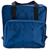 Tinycottons Alphabet Soup Backpack Blue/Dark Navy Blue / Dark Navy