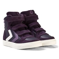 Hummel Stadil Leather Jr Nightshade NIGHTSHADE