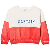 Bobo Choses Captain Boat Sweatshirt Red