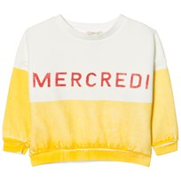Bobo Choses Mercredi Boat Sweatshirt Yellow
