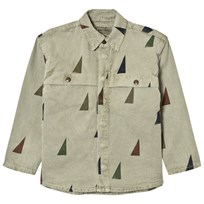 Bobo Choses Overshirt Sails Green