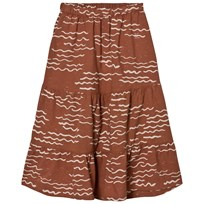 Bobo Choses Long Skirt Tide Orange