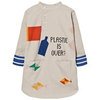 Bobo Choses Plastic is Over? Tunic Klänning Grey