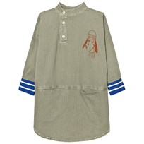 Bobo Choses Tunic Klänning Loup Embroidery Beige