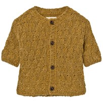 Bobo Choses Octopus Baby Knitted Cardigan Yellow