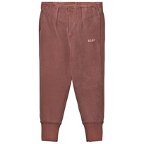 Bobo Choses Buttons Trousers Dusty Cedar Punainen