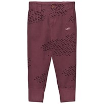 Bobo Choses Buttons Trousers Flocks Red
