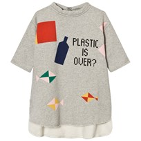 Bobo Choses Plastic is Over? Pocket Dress Black