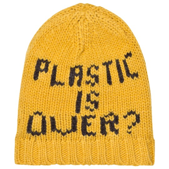 Bobo Choses Plastic is Over? Gold Beanie Yellow