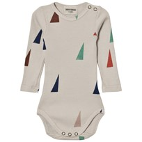 Bobo Choses Sails Baby Body Beige