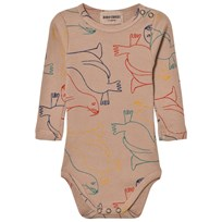 Bobo Choses Baby Body Otariinae Beige