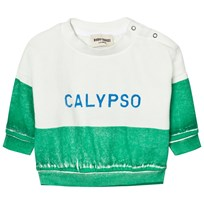 Bobo Choses Calypso Baby Boat Sweatshirt Green