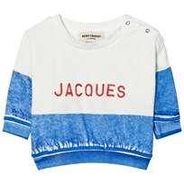 Bobo Choses Jacques Baby Boat Sweatshirt Blue