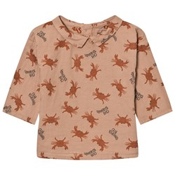 Bobo Choses Baby Button Blouse Crab Your Hands