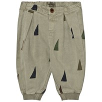 Bobo Choses Baby Baggy Trousers Sails Green