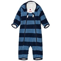Reima Tilhi Mid-Season Windfleece Coverall in Blue Soft Blue