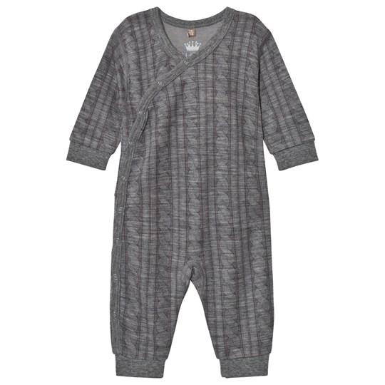 Hust&Claire Cable One-Piece Wool Grey WOOL GREY