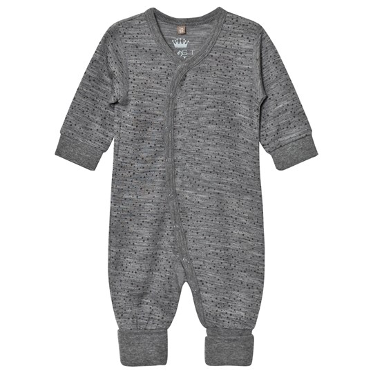 Hust&Claire Spotted One-Piece Wool Grey WOOL GREY