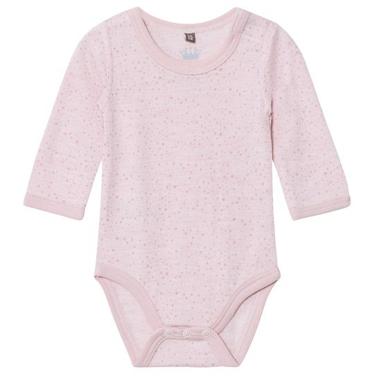 Hust&Claire Spotted Baby Body Rose Rose Melange