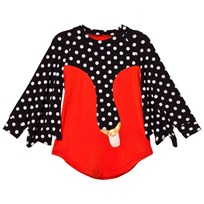 BANG BANG Copenhagen Exclusive Red Drama Queen Spot Swan Dress Red