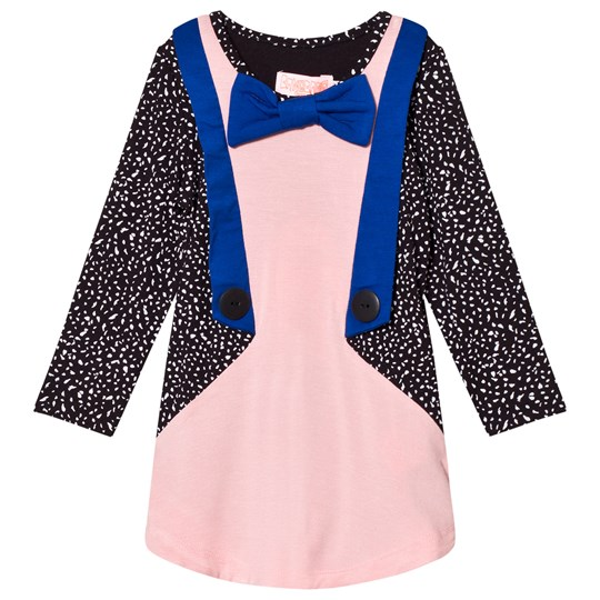 Wauw Capow Pink Spot Jacket Dress Pink