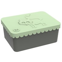 Blafre Lunch box Fox, 1 compartment, Light green Light Green