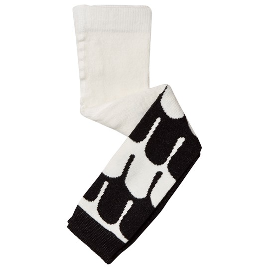 BANGBANG Copenhagen Swan Footless Poetic Tights Black and White