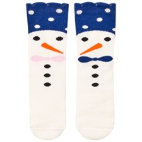 BANG BANG Copenhagen Blue Snow Family Knee Socks Blue