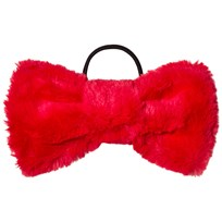 BANG BANG Copenhagen Red Furry Hair Bow Punainen