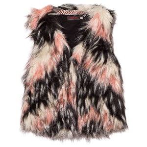 Image of Catimini Pink Textured Faux Fur Gilet S (14 years) (2743777483)