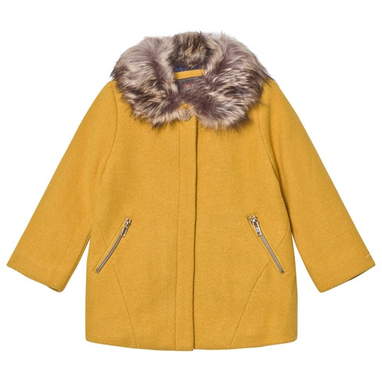Catimini Yellow Lurex Coat 72