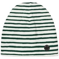 One We Like Stripe Hat White/Green White