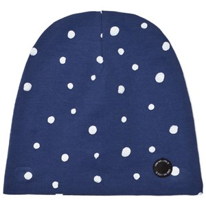 Image of One We Like Dots Hat Blue M (50-52 cm) (2743777745)