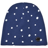 One We Like Dots Hat Blue Blue