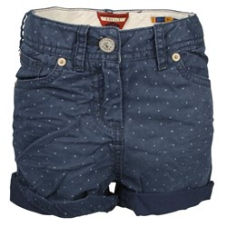 Scotch R'belle Shorts Navy Blue Dotted