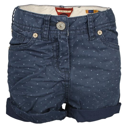 Scotch R'belle Shorts Navy Blue Dotted Blue
