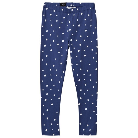 One We Like Dots Leggings Twilight Blue Blue
