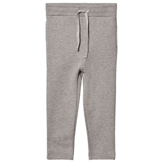 One We Like Gitarr Sweatpants Grey Melange Musta