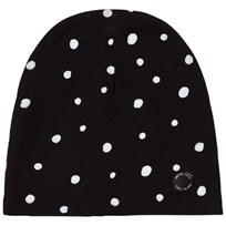 One We Like Dots Hat Black Black
