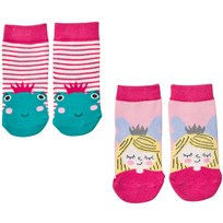 Joules 2 Pack of Princess and the Frog Socks FROG
